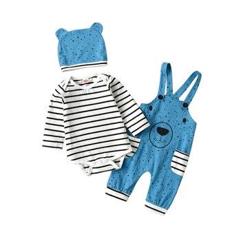 Infant Baby Boys Long Sleeve Romper Set