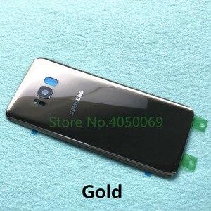 Image 4 - Samsung Lưng Pin Dành Cho Samsung Galaxy Samsung Galaxy S8 G950 SM G950F S8 Plus S8 + G955 SM G955F Lưng Kính Cường Lực Mặt Sau Ốp Lưng + Dụng Cụ