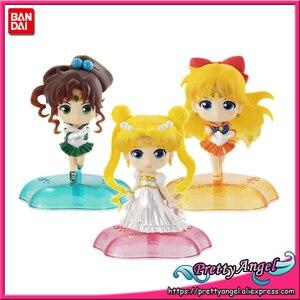 Image 3 - Prettyangel Echt Bandai Sailor Moon Gashapon Capsule Twinkle Standbeeld Moon Mercury Jupiter Venus Compleet Speelgoed Cijfers