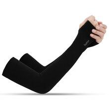 1 пара охлаждающий руку рукава УФ защитная впитывающая велосипедная наручная повязка для езды на велосипеде на открытом воздухе для вождения, бега, гольфа для мужчин и женщин