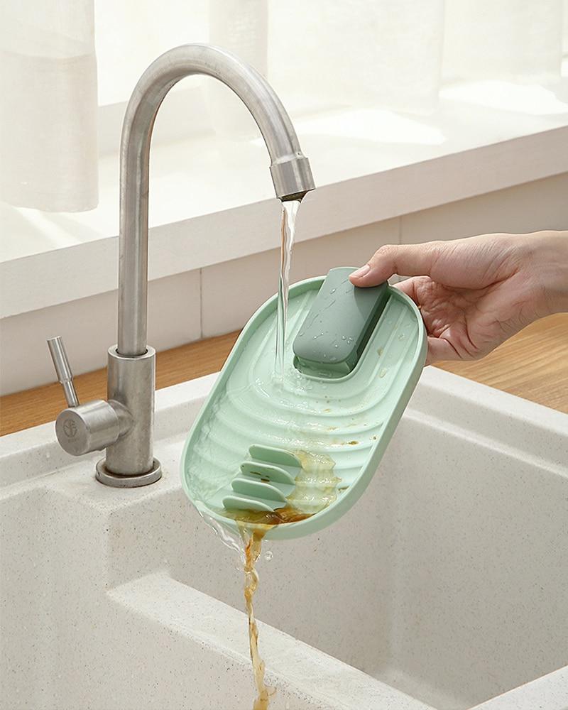 Кухонный стеллаж для крышек шпателя домашняя кухонная посуда