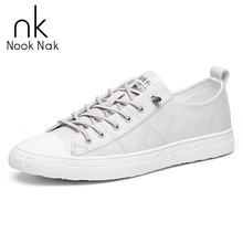 NOOKNAK Men Casual Shoes Fashion Classic Board Outdoors Leather Sneakers