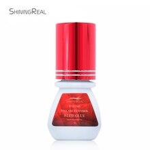 ShiningReal 5 ミリリットルプレミアムエリートボリュームまつげ接着剤まつげエクステンション保持 7 8 週間プロの使用のみ