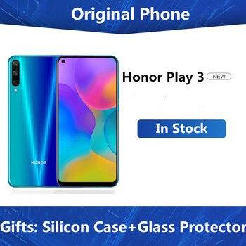 """DHL szybka dostawa Honor Play 3 telefon komórkowy Kirin 710F Octa Core Android 9.0 6.39 """"IPS 1560X720 6GB RAM 64GB ROM 48.0MP GPU TURBO"""