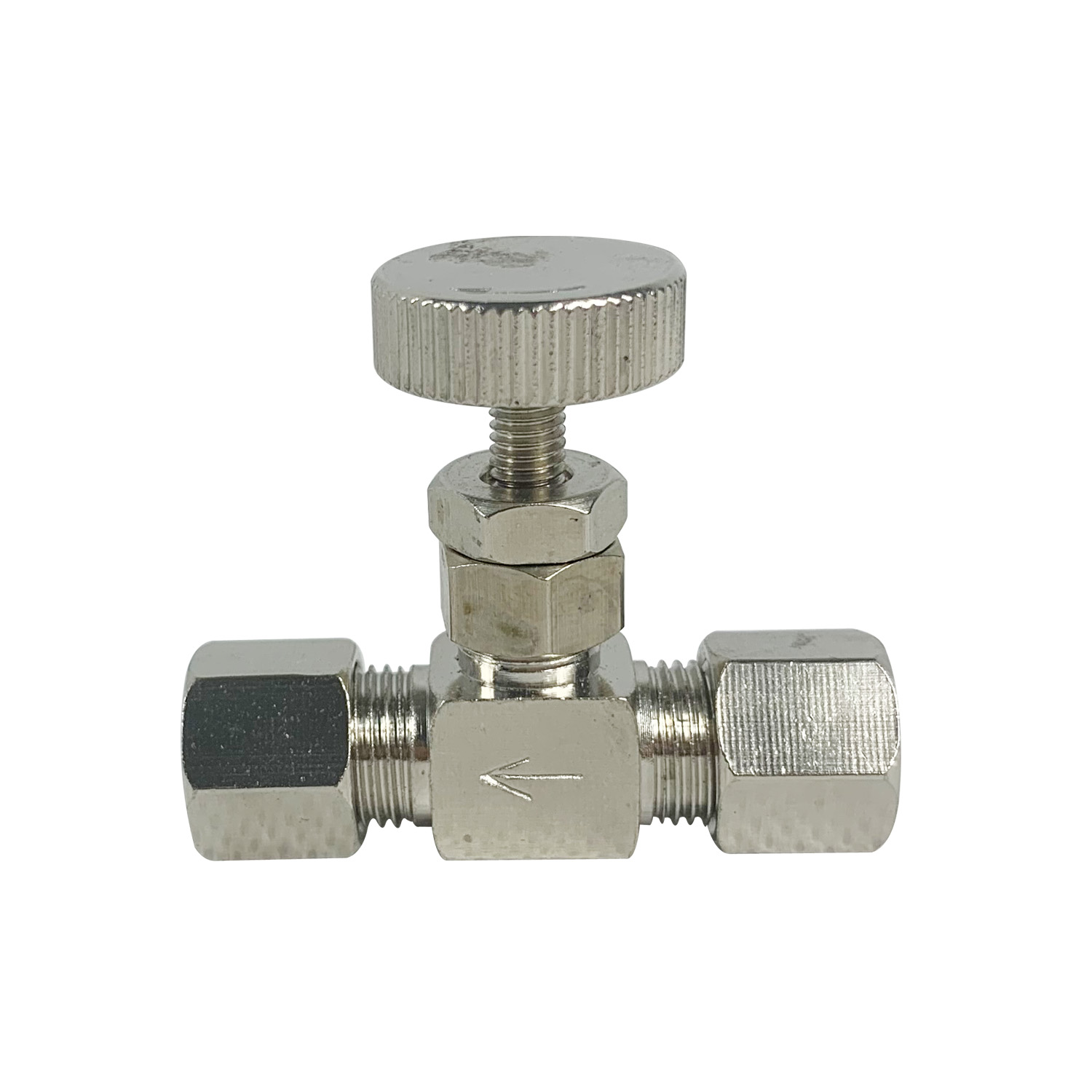 """1/4"""" Pipe Stainless Flow Control Shut Off Water Needle Valve Water Filter Parts     - title="""