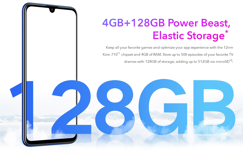Global Version Honor 20 Lite 4GB 128GB Front 32MP Kirin 710 Octa Core Smartphone  (9)