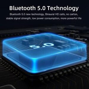 Image 4 - Мини Bluetooth наушники 5,0 + EDR с двойным микрофоном, спортивные водонепроницаемые 3D стереонаушники, гарнитура с автоматическим сопряжением, TWS беспроводные наушники