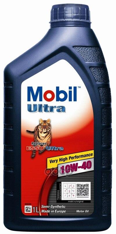 Масло моторное MOBIL ULTRA SAE 10W-40 ACEA A3/B3 - 1л MOBIL арт. 152625