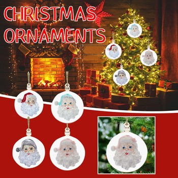 2020 Christmas Holiday Decorations Personalized Survived Family Of Ornament New Christmas Pendant Decoration for Christmas Tree image