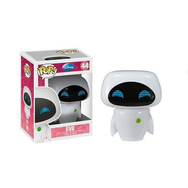 FUNKO POP WALL-E 45# & Eve #44 Action Figure Toys PVC Movie Figure Decoration Model Dolls for Kids Christmas Birthday Gifts 4