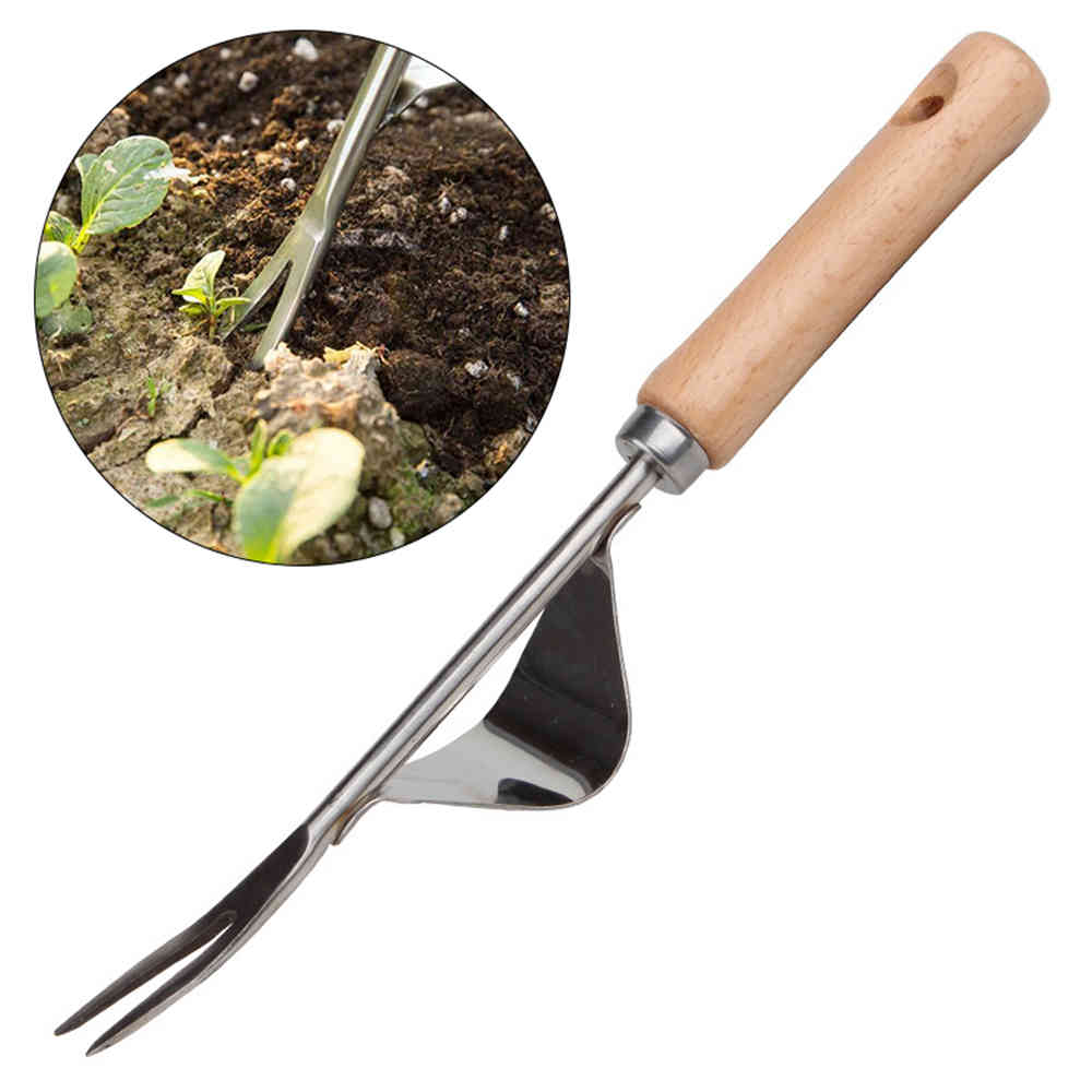 Garden Weeder Tool Lawn Sturdy Digging Puller Hand Weeding Effective Easy Apply Trimming Removal Grass Puller Long Handle #20