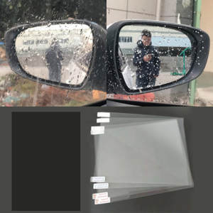 Protective-Film Rearview-Mirror Anti-Water-Mist-Film Anti-Fog Rainproof Universal-Designed