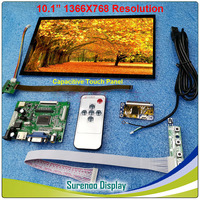 10.1 1366*768 Resistive Capacitive LCD Module Monitor Display Screen Touch Panel with HDMI VGA AV Board