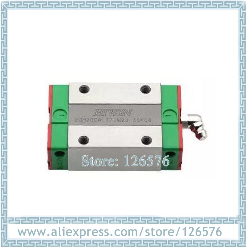 100% Original HIWIN Linear bearing EGH20CA Slider block, EGH20CA Carriage guide block for EGR20