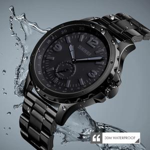 Image 5 - أزياء الرجال ساعة كوارتز 30M للماء ساعة اليد ساعات رجالية الأعلى العلامة التجارية ساعة سكيمي أزياء رجالي سوار ساعة Relogio