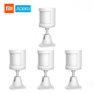 Xiaomi Aqara Human Body Sensor ZigBee Smart Body Movement Motion Sensor Security Wireless Connection Light Mi home APP