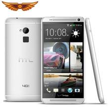 Original Entsperrt HTC One Max Quad Core 5,9 Zoll 2GB RAM 16GB ROM LTE 4G 4,0 MP kamera 1080P 3G GPS WIFI Android Smartphone