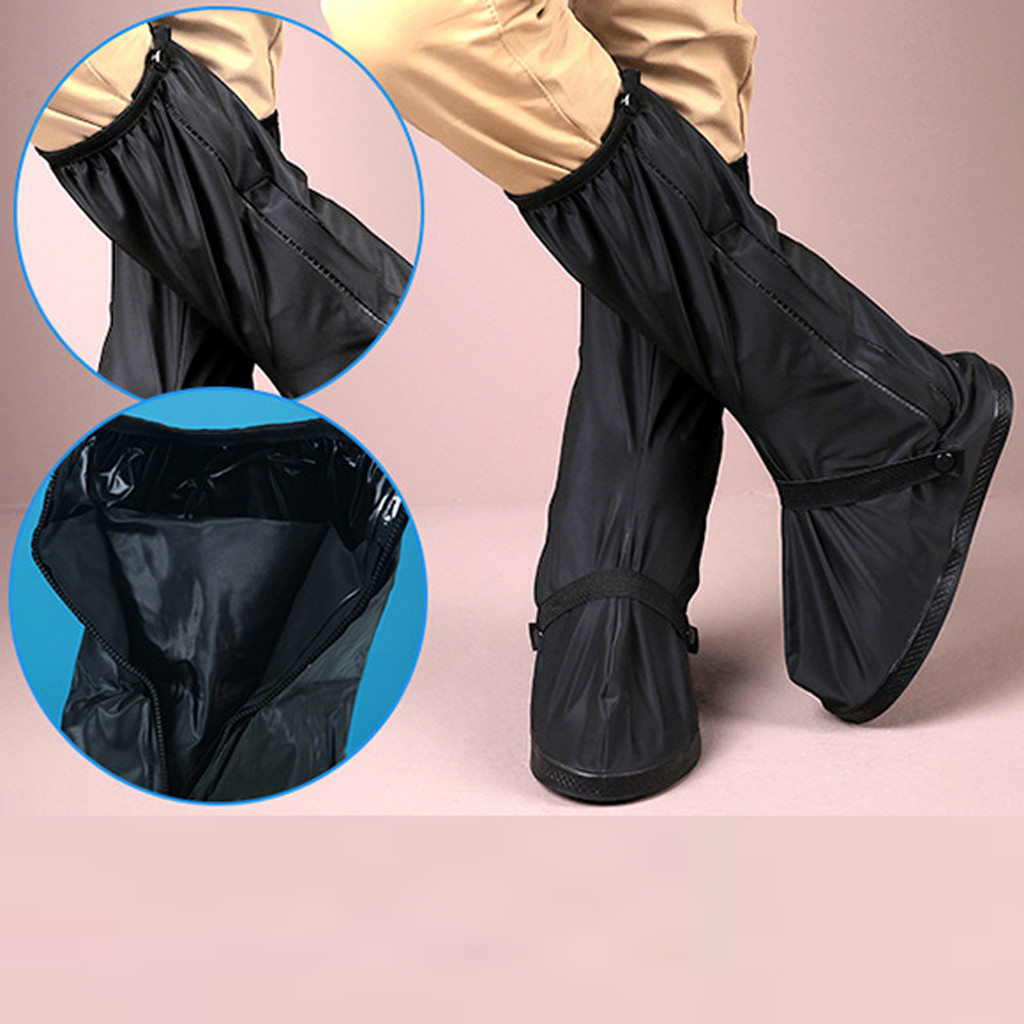 Waterproof High Top Shoe Protector to Cover Shoes in Rainy Days and Prevent Shoes from Mud and Dust Suitable for Outdoor Walking 3