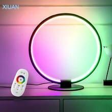 Креативная настольная лампа rgb с дистанционным управлением