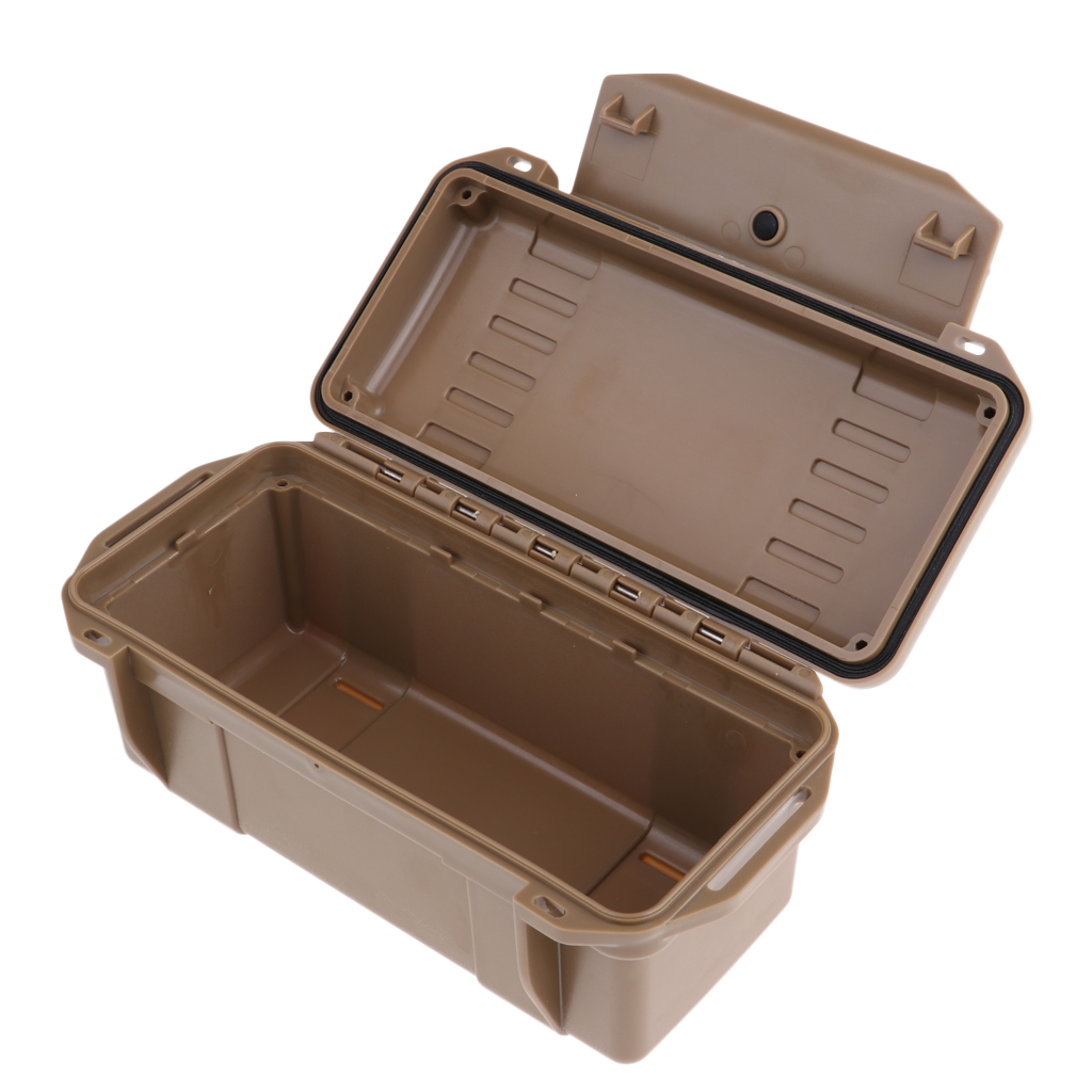 Outdoor Waterproof Shockproof Storage Box Sealed Container Box for Boating Diving Hunting