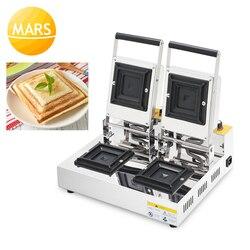 220 V 110 V gofry żelaza toster maszyna do prasowania na gorąco toster ciasto chleb kieszeń maszyna tosty