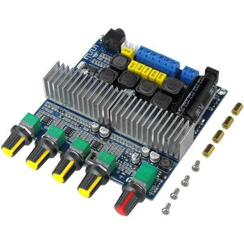 TPA3116 Subwoofer Amplifier Board 2.1 Channel High Power Bluetooth 4.2 Audio Amplifiers DC12V-24V 2*50W+100W Amplificador tda7850 high power car amplifier board analog circuit btl class ab four channel stereo subwoofer 4 50w bluetooth 5 0 amplifiers