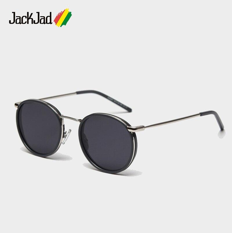 JackJad 2020 Classic Vintage Round Style Polarized Sunglasses Women Ins Fashion Brand Design Sun Glasses Oculos De Sol S32007