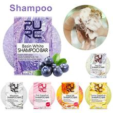 6 Flavors Handmade Hair Shampoo Soap Eco-Friendly Solid Sham