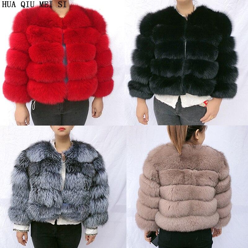 20 Natural fur women's winter jacket fox fur coat fur coat fur natural jacket quality natural fox fur jacket real fox fur coats|Real Fur| - AliExpress