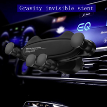 Car Phone Holder Gravity sensor  Mobile Smartphone Stand Support Cell