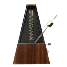 цена на Mechanical Metronome Wooden Color Music Timer For Piano Guitar Violin Guzheng Musical Instrument Teaching Metronome