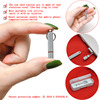 v4sim Cases Portable stainless Sim Card Tray Pin Eject Removal Tool Needle Opener Ejector silver