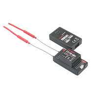 Flysky 2.4G 10CH FTr10 Two way Dual Antenna PPM/IBUS PL18 AFHDS3 Mini Receiver for Flysky PL18 Fpv Racing Drone RC Spare Part
