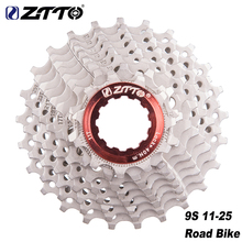 ZTTO 9 Speed Cassette 11-24T 11-28T Bicycle Freewheel Road Bike Cassette Sprockets For Shimano Sora 3300 3500 R300 Bicycle Parts система shimano deore m610 170мм ин вал 42 32 24t с кареткой серебристый efcm610c224xs