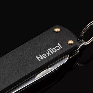 Image 3 - Многофункциональный мини нож Youpin Nextool, ножницы, отвертка, складной нож для фруктов, походный инструмент, клипса для выживания, острый резак