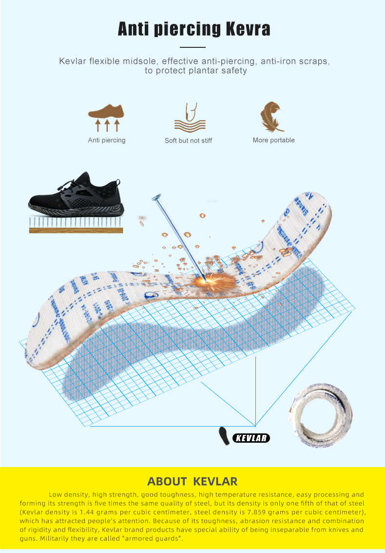 Dropshipping Unzerstörbar Arbeit Schuhe Männer Und Frauen Stahl Kappe Air Sicherheit Stiefel Punktion-Beweis Arbeit Turnschuhe Atmungsaktive Schuhe