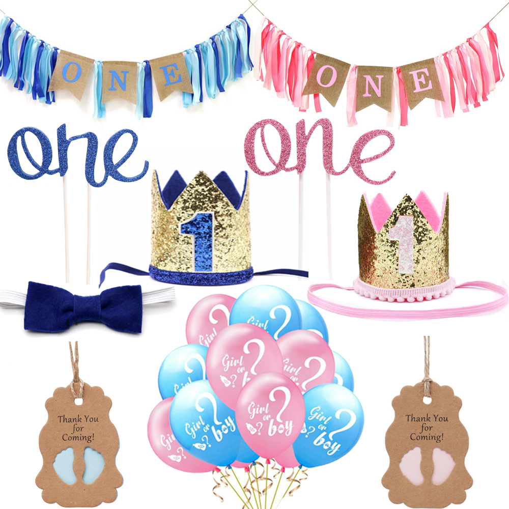 Baby Shower Foil Letter Balloon Banner Bunting BABY IT IS A BOY GIRL Party Decor