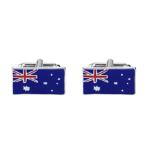 Hot Sale Men Metal Cuff Links High Quality French Cufflinks Australian Flag Shirts for Gifts