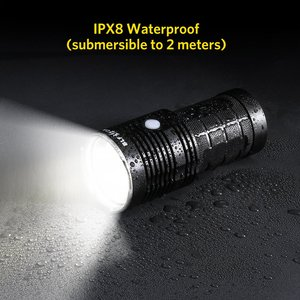Image 5 - BLF Q8 4 x XPL 5000lm projecteur professionnel puissant, procédure de fonctionnement Multiple, lampe de poche LED, 18650