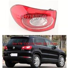 цена на MIZIAUTO Outer side Tail Light for VW TIGUAN 2009-2012 turn signal taillights Brake Light Rear Bumper Light Fog lamp Stop