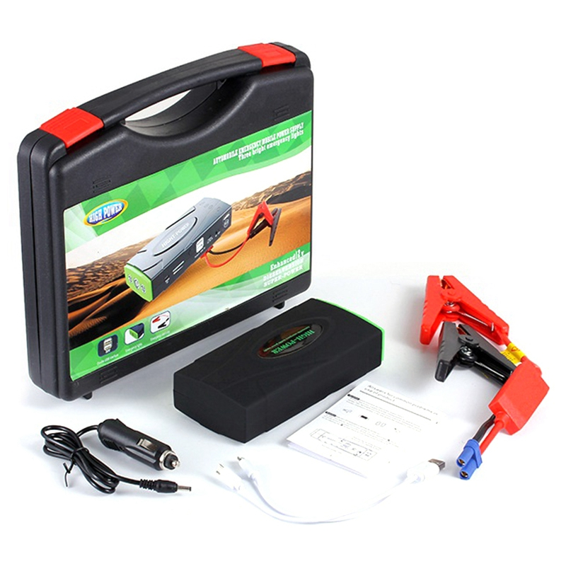68800Mah High Power Car Jump Starter 12V Portable Starting Device Power Bank Car Charger For Car Battery Booster Buster 2 Usb