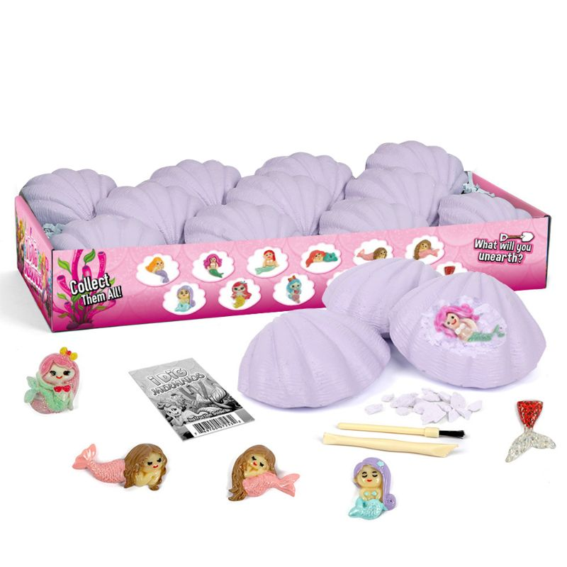 12pcs Fish Fairies Dig Kit Discover Stem Toys For 7 Year Old Gift For 7 Year Old DXAD