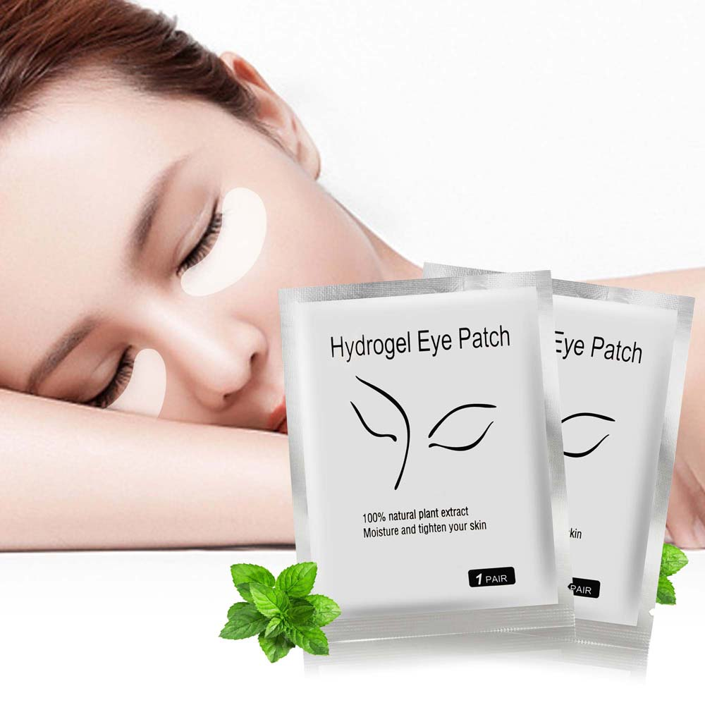 Image 2 - 20pcs/set V Chin Lifting Mask + Hydrogel Eye Patch Mask Moisture Tighten Skin Remove the Dark Circle Wrinkle for Face Care-in Face Skin Care Tools from Beauty & Health