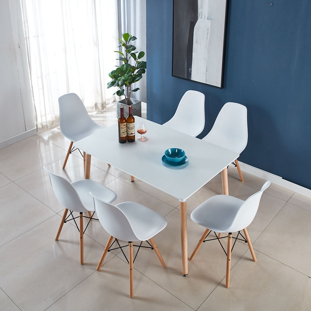 Table & 6 Chairs Set  2