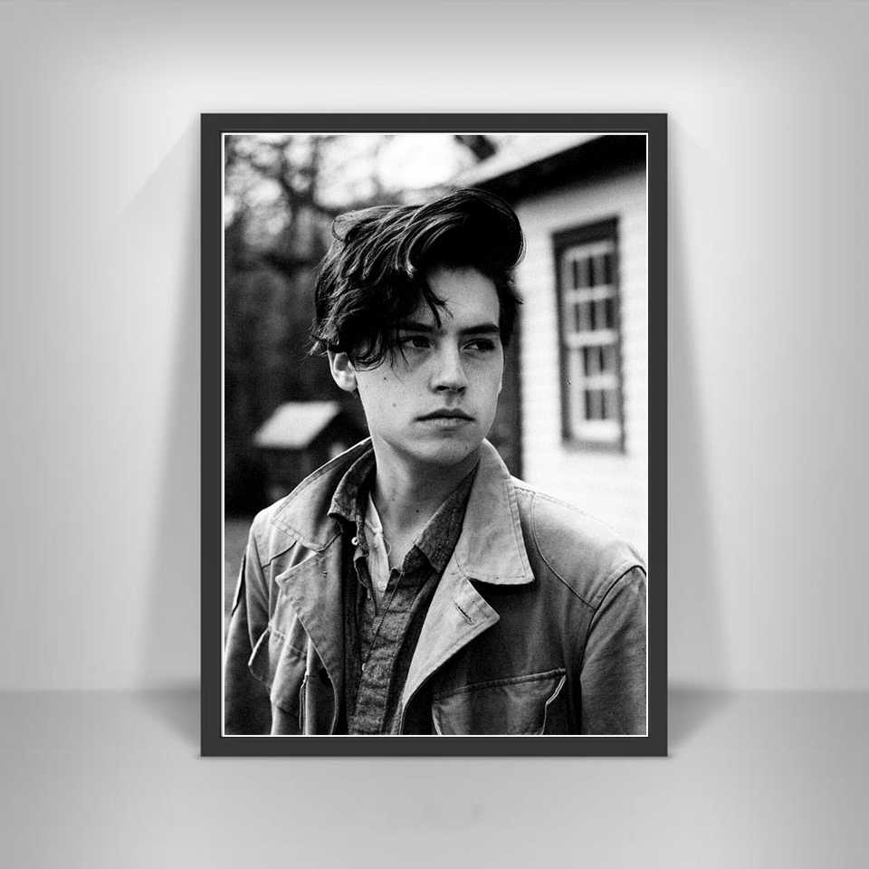 cole sprouse poster prints hot neue tv series film star schauspieler kunst leinwand ol malerei wand bilder fur wohnzimmer wohnkultur