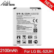 Pinzheng 2100 мА/ч bl 52uh Батарея для lg spirit h422 d280n
