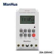 Программируемый таймер manhua mt316s многофункциональный электронный
