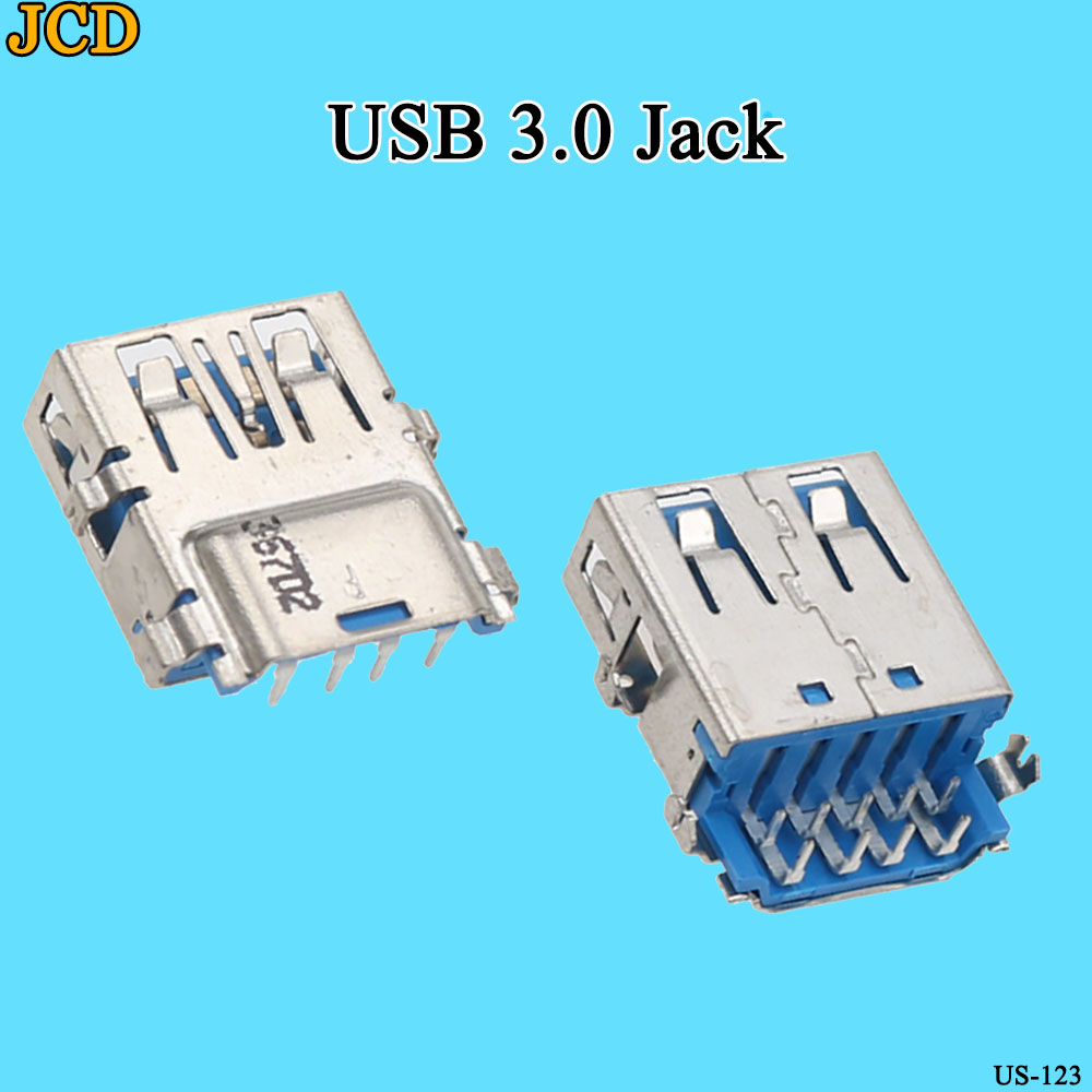 JCD 2pcs/lot USB 3.0 Female Port Jack Replacement Connector For Lenovo Yoga 2 13 G40-70 Y50-70 Y70-70