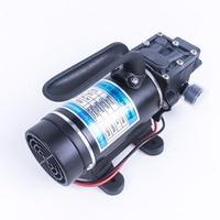 DC 24V 120W 130PSI 10L/Min Water High Pressure Diaphragm Self Priming Pump Small Safe Return Valve Type Pump