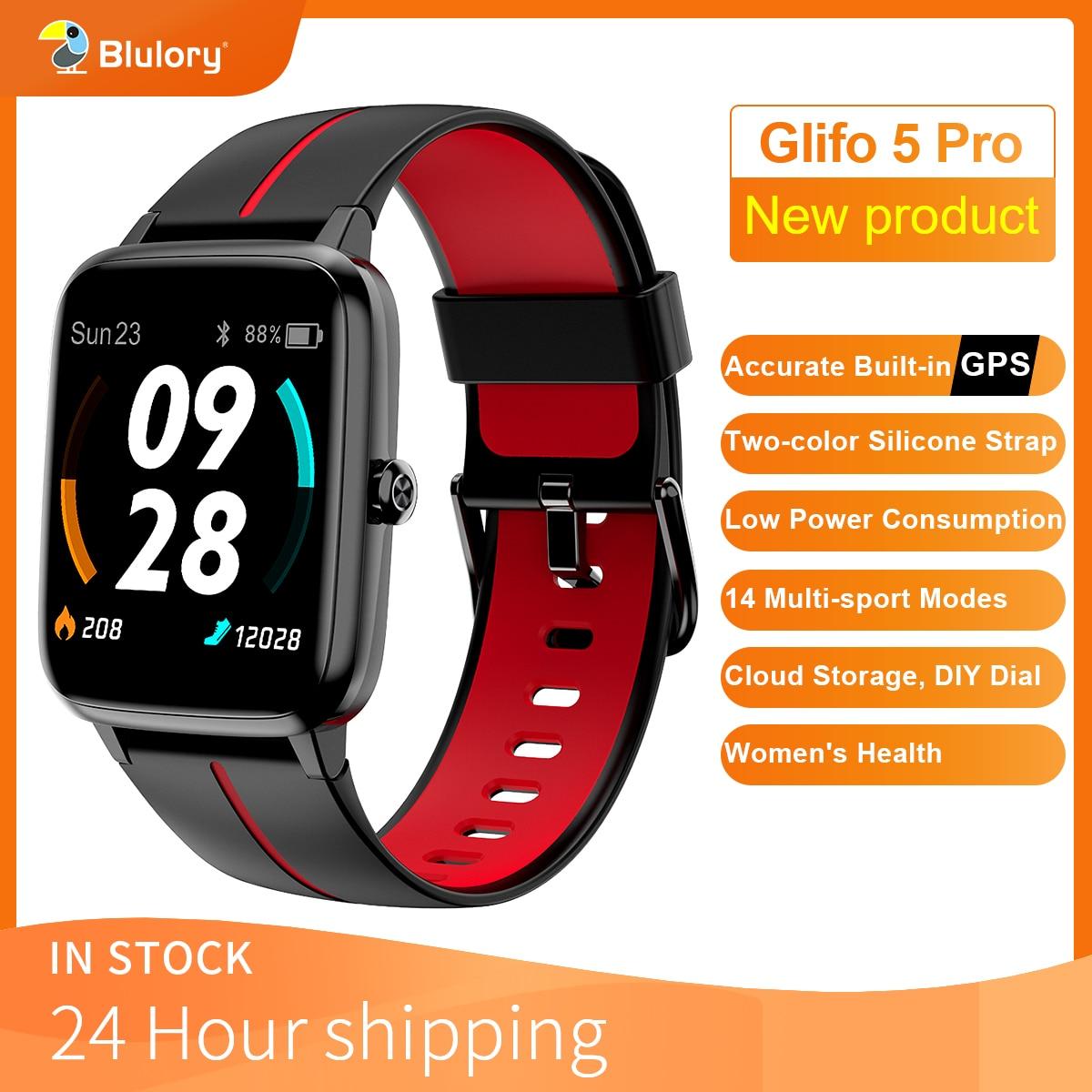 Blulory GPS спортивные Водонепроницаемый IP68 умные часы с экраном сердцебиения, умные часы для android Bluetooth5.0 часы мужские 2021 для женщин